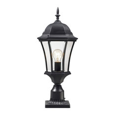 Wakefield 1 Light Post Light or Accessories in Black