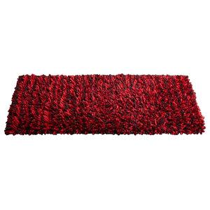 Rocky Rug, Red, 120x180 cm