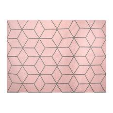 Kilim Dhurrie Boxes Floor Rug, 300x230 cm