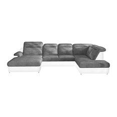 MONERO XL Sleeper Sectional Sofa Right