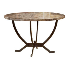 faux stone dining room tables | houzz