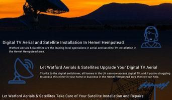 TV aerial installers Watford
