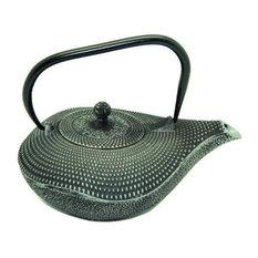 Patterned Cast Iron Teapot