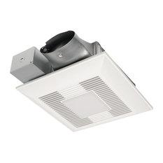 Panasonic Whisper Value Multi-Flow Bathroom Fan, White