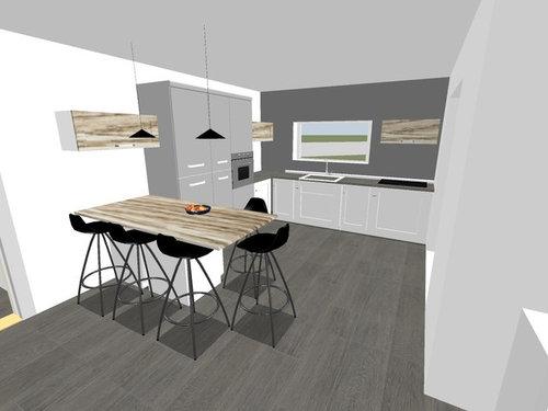 Cucina sotto finestra bassa latest idee tende per la cucina with