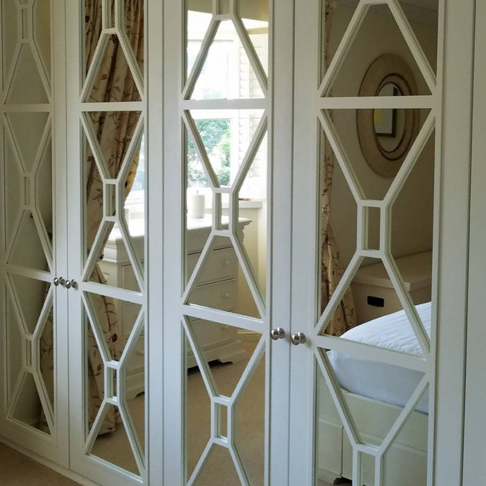 Classic mirrored Wardrobe Doors