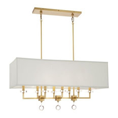 Crystorama Paxton, Eight Light Chandelier