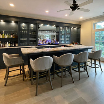 Residential Bar in Laurell Hollow, NY.