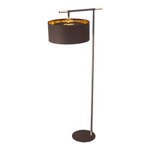 Balance Modern Floor Lamp, Brown