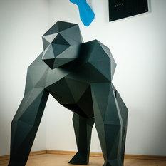 papertrophy papercraft design dekofiguren - Moderne Deko