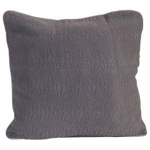 Southall Bedspread, Charcoal, Cushion 50x50 cm
