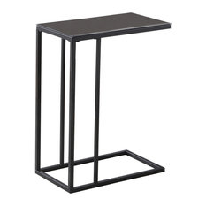 Monarch Specialties   Accent Table   Black Metal, Black Tempered Glass   Coffee  Tables