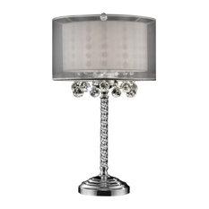 "30"" Moiselle Crystal Table Lamp"