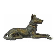 Moigniez Vienna Brass Austria Basenji Terrier Bronze Scotty Dog Art Deco Gift