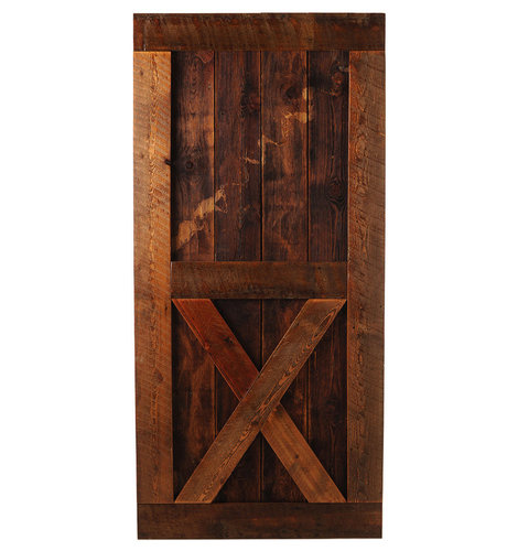 "Big Sky Barn Doors - Gallatin Barn Door, 50""x85"" - Interior Doors"