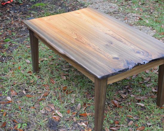 sinker cypress coffee table