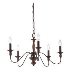 Tuscan chandeliers houzz quoizel holbrook 5 light chandeliers tuscan brown chandeliers aloadofball Images