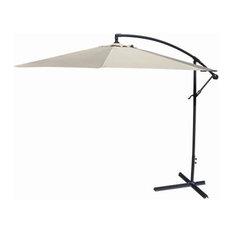 Jordan Manufacturing Offset Umbrella, Natural, 10'