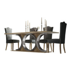 Saphire L13 Dining Table Set 60.99-inch