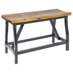 Industrial Dining Benches by Olliix