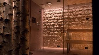 Umzieh- und Duschebereich
