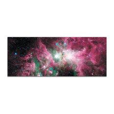 Carina Nebula, Reverse-Print Acrylic Outer Space NASA Art