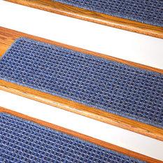 Dean Flooring Company, LLC   Washable Non Skid Carpet Stair Treads    Michelle Blue