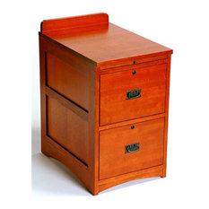 ... Mission Oak 2-Drawer Dresser File Cabinet AC 9194 - Filing Cabinets