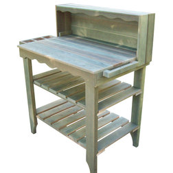 Potting Benches by Wood Country