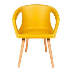 Oman Chair, Ginger Yellow