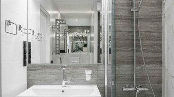 Ремонт ванной комнаты, новостройка