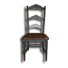 Colonial Stretcher Base Side Chair