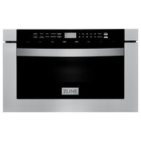 "ZLINE 24"" 1.2 cu. ft. Microwave Drawer, Stainless Steel"