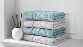 Duchene Sculpted 6-Piece Turkish Towel Set