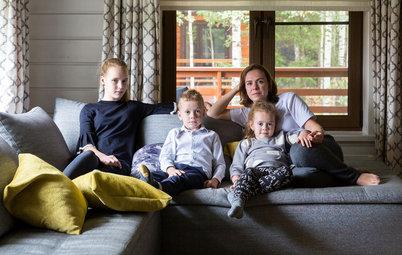 В гостях: Дальняя дача для семьи с тремя детьми