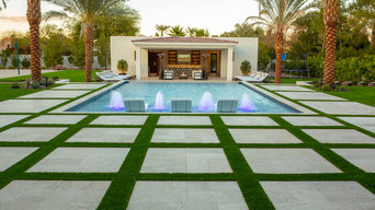 PV Pool with Pool House