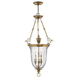 Cambridge Solid Brass Large Pendant