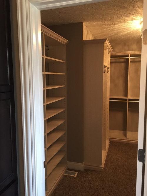 Small Mudroom Lockers And Master Closet