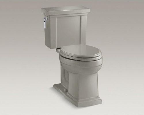 Tresham(R) Comfort Height(R) two-piece elongated 1.28 gpf toilet with AquaPiston - Toilets