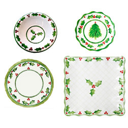 Traditional Holiday Dinnerware by Encore Concepts,LLC
