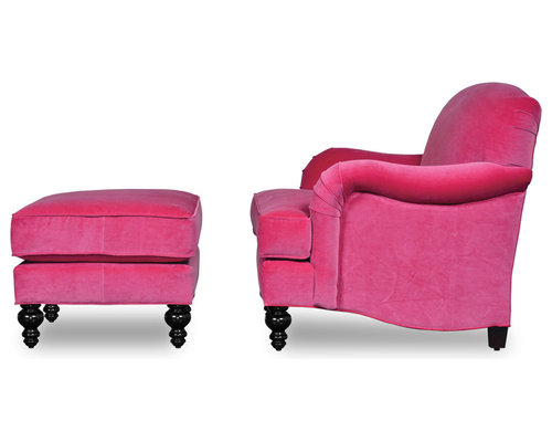Basel Tight Back English Roll-Arm Sofas and Chairs