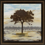 Paragon - Paragon Scenic Casual Lovely Little Tree Wall Art - Exclusive Hand Painted on Board