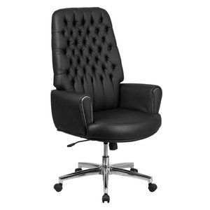 Theodore Tufted Home Office Chair With Swivel Base Contemporary Office Chairs By Gdfstudio