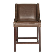 Dylan Counterstool Brown Leather