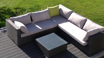 Wasserfeste Outdoor-Lounge