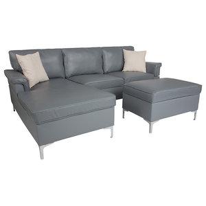 Stupendous Gdf Studio Milton Mid Century Modern Navy Blue Fabric Sofa Unemploymentrelief Wooden Chair Designs For Living Room Unemploymentrelieforg