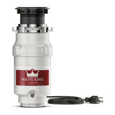 Waste King L-111 Series 1/3 HP Continuous Feed Garbage Disposal