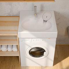 Nos Petits Lavabos Pour Machine A Laver Et Petites Salles De Bain