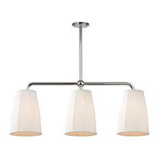 Hudson Valley Lighting 6063-PN Malden - Three Light Island