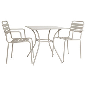 Dean Street 3-Piece Outdoor Dining Set, Clay